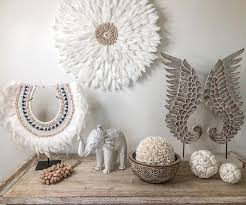 feather decor juju hat white cowrie