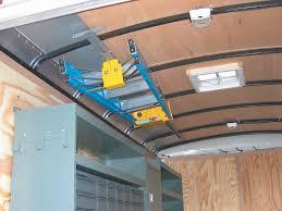 ladder rack for cargo trailers ladder keeper interior rack