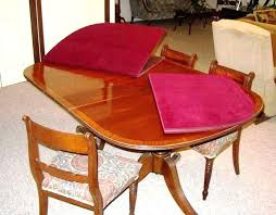 round table extender top dining