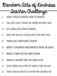 best teacher morale ideas teachers room staff random acts of kindness teacher challenge