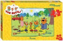"""<b>Step Puzzle</b>-24 maxi 24 ""Три кота"" (90033)"" купить <b>пазлы</b> ..."