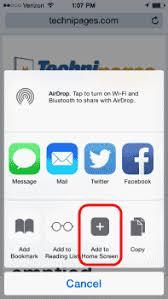 iPhone & iPad Set Safari Home Page