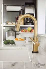 Touch kitchen faucets Rb Dst The Prettiest Kitchen Faucet You Ever Did See Cooking Spaces Pinterest Kitchen Gold Kitchen Faucet And Gold Kitchen Pinterest The Prettiest Kitchen Faucet You Ever Did See Cooking Spaces