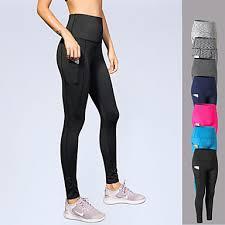 Womens Patchwork Yoga Pants Sports 3d Print Elastane Tights