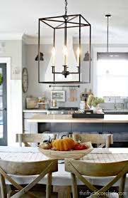 My Pretty New Light Fixture In The Kitchen In 2019 Decor Blogs I