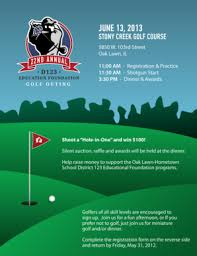 Fillable Online D123 D123 Ed Foundation Golf Outing Flyer