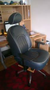 another rover 75 seat converted to an office chair car seats office chairs