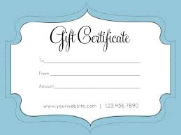 Fillable Gift Certificate Template Free Gift Certificate Template Free My Future Fillable