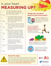 Healthy Waist Size Chart Obesity Waist Measurement Chart Obesity Education Initiative
