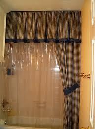 Unique Shower Curtains With Valance Ideas