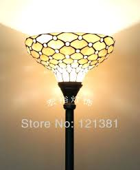glass lampshades for floor lamps antique style style clear beads lamp living room floor light stained