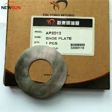 in Stock Ap2d12 <b>Hydraulic</b> Spare Parts Valve Plate <b>Piston Shoe</b>