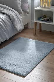 blue supersoft rug