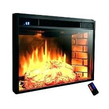 elegant duraflame electric fireplace insert