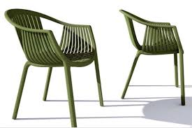 6 x italian designer restaurant standard chairs polypropylene durable stylish and stackable