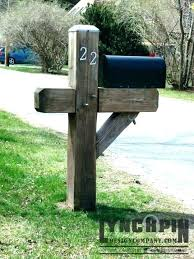 Image Letter Wooden Mailbox Post Wood Mailbox Post Designs Double Mailbox Post Style Heavy Duty Mailbox Post In Ekobuzzcom Wooden Mailbox Post Chiradinfo