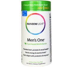 Where To Buy Rainbow Light Vitamins Rainbow Light Just Once Mens One Food Based
