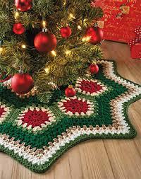 Christmas Tree Skirt Crochet Pattern Extraordinary Ravelry Granny Ripple Tree Skirt Pattern By Margret Willson