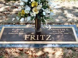 Jeannette Cooper Fritz (1918-2006) - Find A Grave Memorial