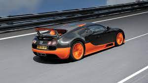 The bugatti veyron 16.4 was the most powerful and the faster car in the world when it first came out in 2005, it can easily pass as a super hero`s car like batman. Bugatti Veyron 16 4 Super Sport