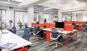 efficient office design. Adam Strudwick, Associate Principal And Design Director At HLW International In London, Shares Where He Sees Office Headed The Industry Efficient S
