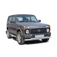 <b>Защита переднего бампера</b> для Лада Нива для авто купить по ...