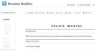 Resume Builder Linkedin Impressive Brilliant Ideas Of Linkedin Resume Builder Not Working Fantastic