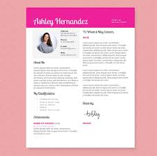 Resume Template With Photo Chic Resume Template Package Resume Templates Creative Market 42