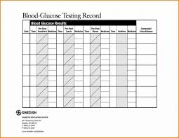 020 Blood Sugar Log Template Ideas Diabetic April Onthemarch Co