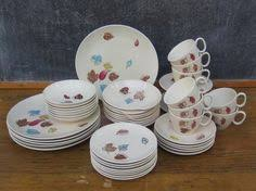 1950'S Dinnerware Patterns Adorable 48 Best H Royal China Sebring Ohio 48 Images On Pinterest