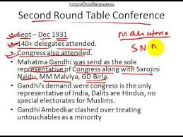 upsc history round table conferences
