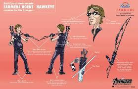avengers hawkeye costume