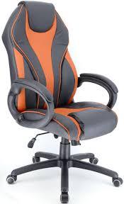 Игровое <b>кресло Everprof Wing</b> TM Экокожа Оранжевый - купить ...