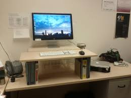 make your own office desk. DIY Standing Desk Make Your Own Office S
