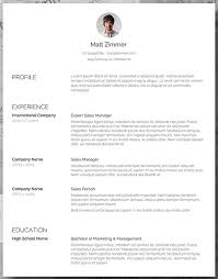 Resume Templaye 25 Free Resume Templates For Microsoft Word How To Make