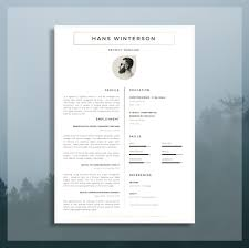 2 Page Resume Template Gorgeous CV Template Résumé Template For Word Cover Letter Advice 28