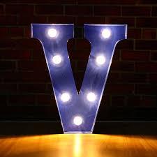 Generic N Z Alphabet Letter Led Light Bulbs Lamp Light Up Decoration