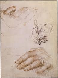 ганс гольбейн младший эскиз руки эразма роттердамского описание