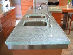 kitchen design glass tops interior design architecture and recycled kitchen countertops