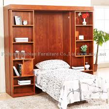 sliding bookcase murphy bed.  Bookcase GS5001 Wall Bed Sets Sliding Bookcases Murphy Hidden Image On Bookcase