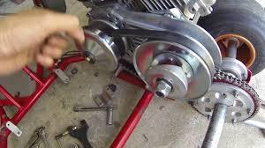 Installing A Torque Converter Go Kart Build Part 3