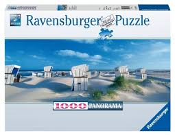 <b>Пазл Ravensburger Пляжные корзинки</b> на Зюлте (15054), 1000 дет.