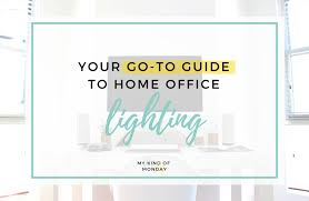 home office guide. Your Complete Guide To Home Office Lighting F