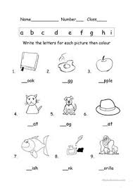 Consonants, vowels, diphthongs, blends, syllables, digraphs, trigraphs, ending free phonics activities and worksheets. English Esl Phonics Worksheets Most Downloaded 174 Results