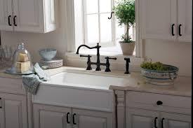 rohl bridge kitchen faucet black