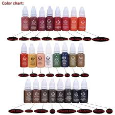 top quality biotouch lip tattoo pigment ink for digital tattoo makeup machine with permanent feature brightest tattoo ink tattoo equipment from
