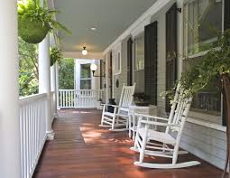 front porch potted plants ideas tips extraordinary image of front porch decoration using white