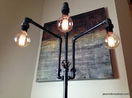 floor lamp light bulb adjule industrial furniture multiple bulbs creation antique