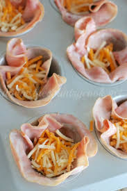 Low Carb Baked Ham and Egg Cups - The Country Cook