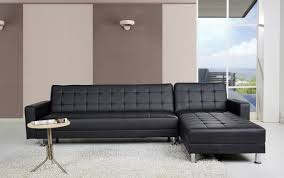faux leather sectional sofas you'll love  wayfair